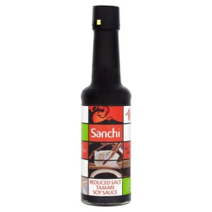 Sanchi Tamari Soy Sauce Reduced Salt Gluten Free 150ml