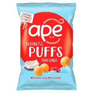 Ape Coconut & Rice Puffs Thai Chilli 25g