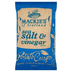 Mackie's of Scotland Sea Salt & Vinegar Crisps 150g