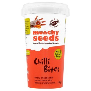 Munchy Seeds Chilli Bites Tub 140g