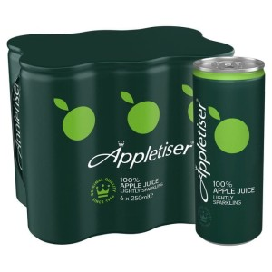 Appletiser Sparkling Apple Juice 24 x 250ml