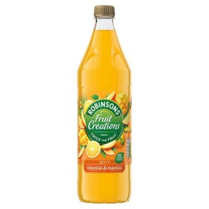 Robinsons Fruit Creations Orange & Mango No Added Sugar 1L