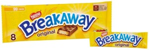 Breakaway Milk Chocolate Biscuit Bar 8 x 19.1g