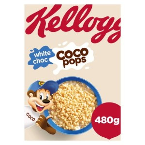 Kellogg's White Chocolate Coco Pops 480g