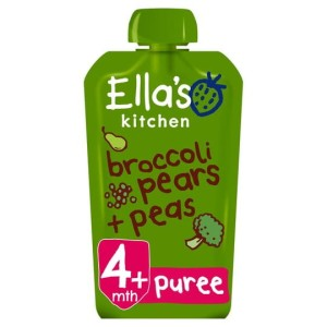 Ella's Kitchen Organic Broccoli, Pears & Peas Stage 1 120g
