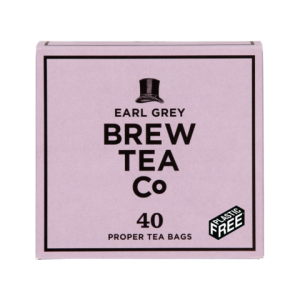 Brew Tea Co Earl Grey 40 Proper Tea Bags