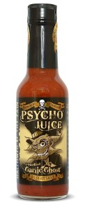 Psycho Juice Roasted Garlic Ghost Killer Hot Sauce 148ml