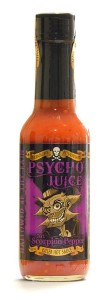 Psycho Juice 70% Scorpion Pepper Killer Hot Sauce 148ml