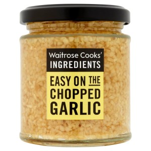 Cooks' Ingredients Chopped Garlic Waitrose 190g