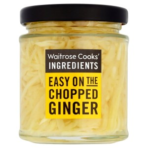 Cooks' Ingredients Chopped Ginger in White Wine Vinegar Waitrose 180g