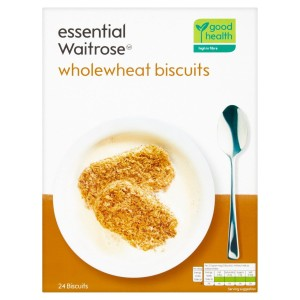Essential Waitrose 24 Wholewheat Biscuits 450g
