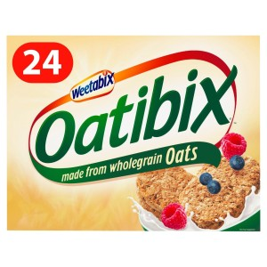 Weetabix Oatibix Wholegrain Oats Cereal 24's 576g