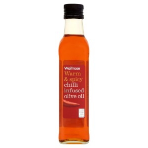 Chilli Infused Olive Oil Waitrose 250ml