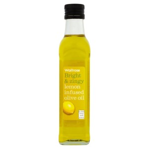 Lemon Infused Olive Oil Waitrose 250ml