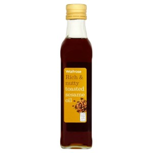 Cooks' Ingredients Toasted Sesame Oil Waitrose 250