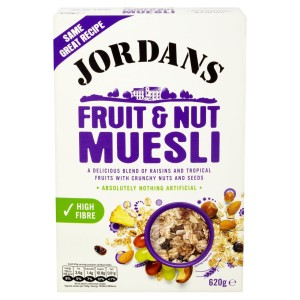 Jordans Muesli Fruit & Nut 620g