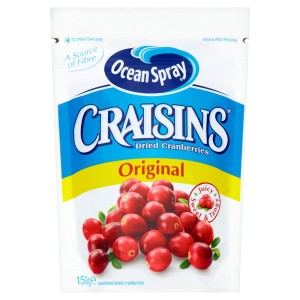 Ocean Spray Craisins Dried Cranberries 150g