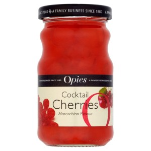 Opies Cocktail Cherries Maraschino 225g