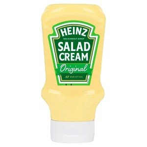 Heinz Salad Cream Squeezy Top Down 425g