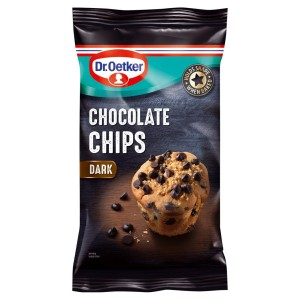 Dr Oetker Plain Dark Chocolate Chips 100g