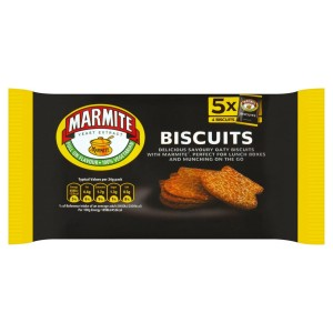 Marmite Snack Pack Biscuits 5 x 24g