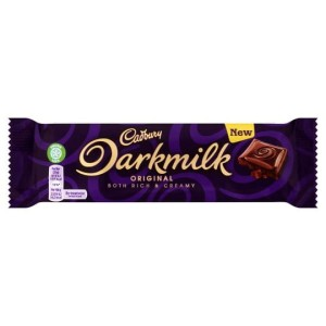 Cadbury Darkmilk Chocolate Bar 35g