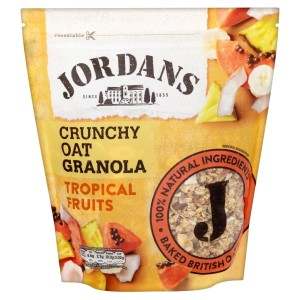 Jordans Original Crunchy Granola Tropical Fruits 750g