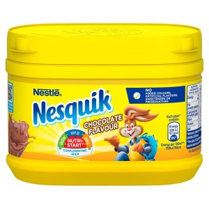 Nesquik Chocolate Milkshake Mix Tub 300g