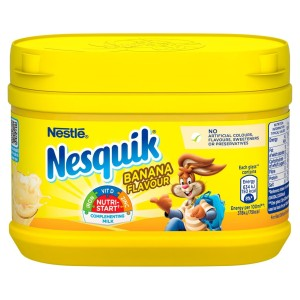 Nesquik Banana Milkshake Mix Tub 300g