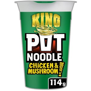 Pot Noodle King Chicken & Mushroom 114g