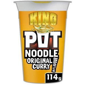 Pot Noodle King Original Curry Flavour 114g
