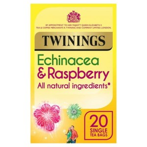 Twinings Fresh & Fruity Echinacea & Raspberry Tea Bags 20 Tea bags