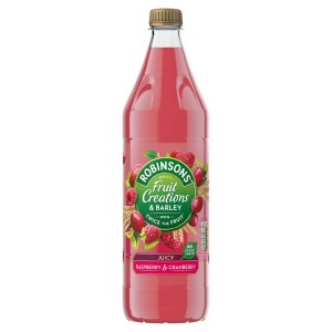 Robinsons Fruit Creations & Barley Apple, Cranberry & Raspberry 1L