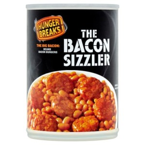 Hunger Breaks The Bacon Sizzler 395g