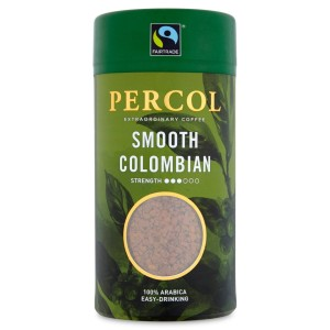 Percol Colombia Instant Coffee Fairtrade 100g