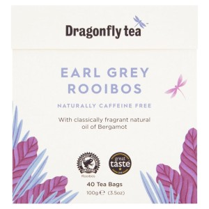 Dragonfly Rooibos Earl Grey Tea 40 per pack