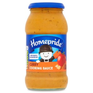 Homepride Curry Cooking Sauce 485g