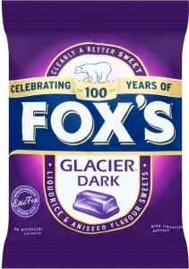 Fox's Glacier Dark Mints 200g