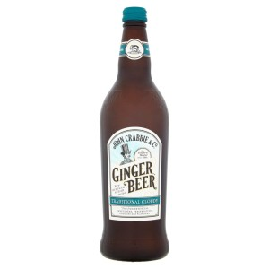 John Crabbie's Traditional Cloudy Ginger Beer 700ml