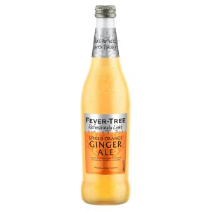 Fever-Tree Refreshingly Light Spiced Orange Ginger Ale 500ml