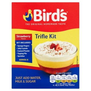Bird's Strawberry Trifle Mix 141g