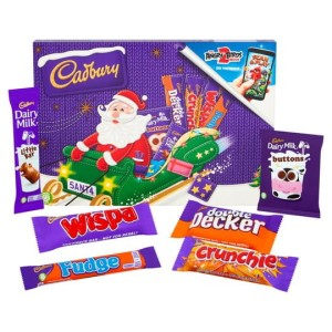 Cadbury Milk Chocolate Santa Selection Box 153g