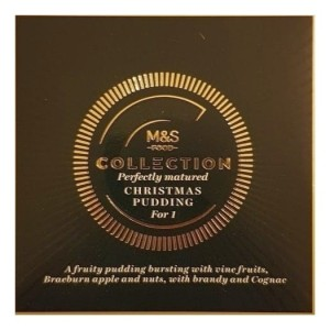 Marks & Spencer Collection Perfectly Matured Christmas Pudding For 454