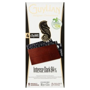 Guylian No Added Sugar Dark 84% Bars 100g