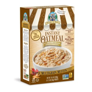 Bakery On Main Instant Oatmeal Maple Muffin 6 x 50g