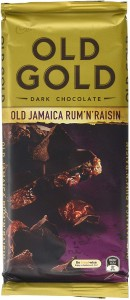 Cadbury Old Gold Old Jamaica Rum 'n' Raisin Dark Chocolate 180g