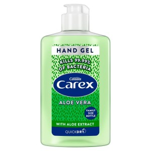 Carex Sanitising Hand Gel  Quick Dry Aloe Vera 300ml