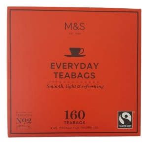 Marks & Spencer Everyday 160 Teabags