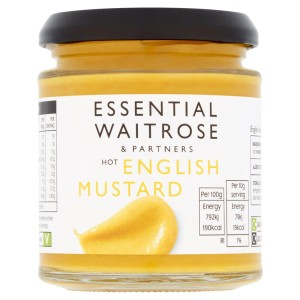 Essential Waitrose Hot English Mustard 180g
