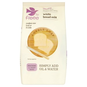 Doves Farm Gluten Free White Bread Mix 500g